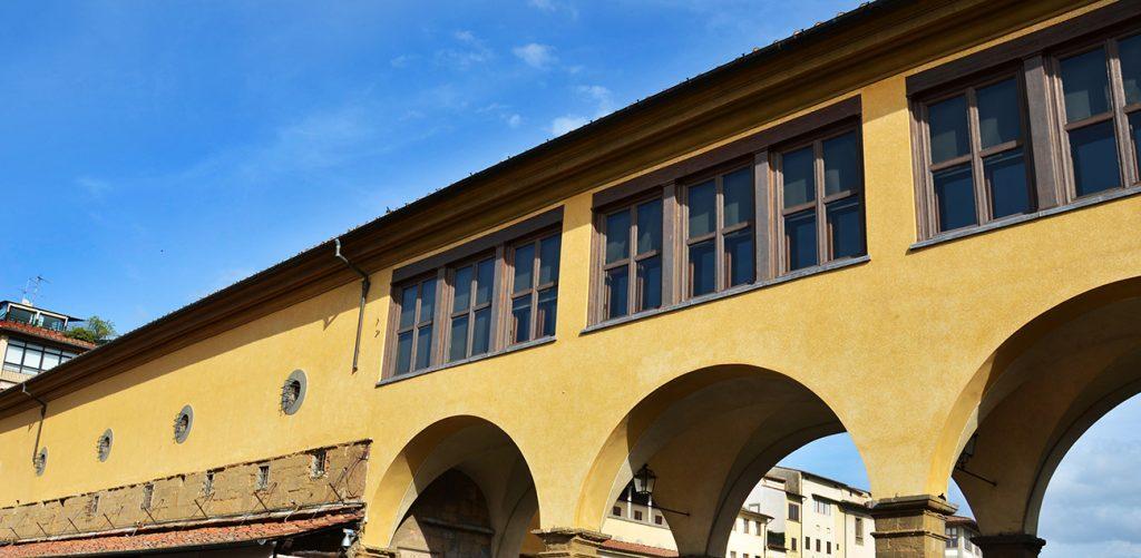 Curiosities about the Vasari Corridor