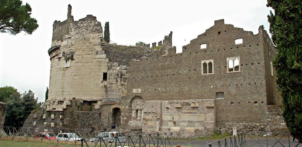 The Tomb of Cecilia Metella entrance ticket