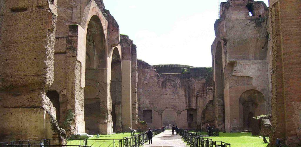 Biglietto d'ingresso alle Terme di Caracalla