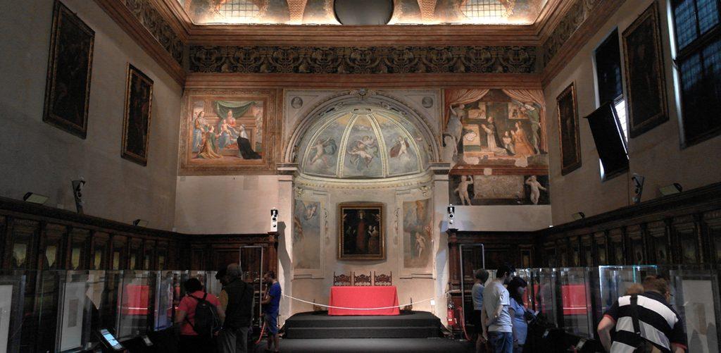 Biglietto d'ingresso alla Sacrestia del Bramante