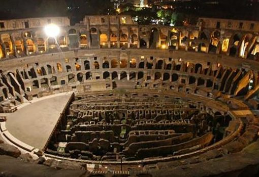 "Colosseum Night Opening ""The Moon over the Coliseum 2017"""