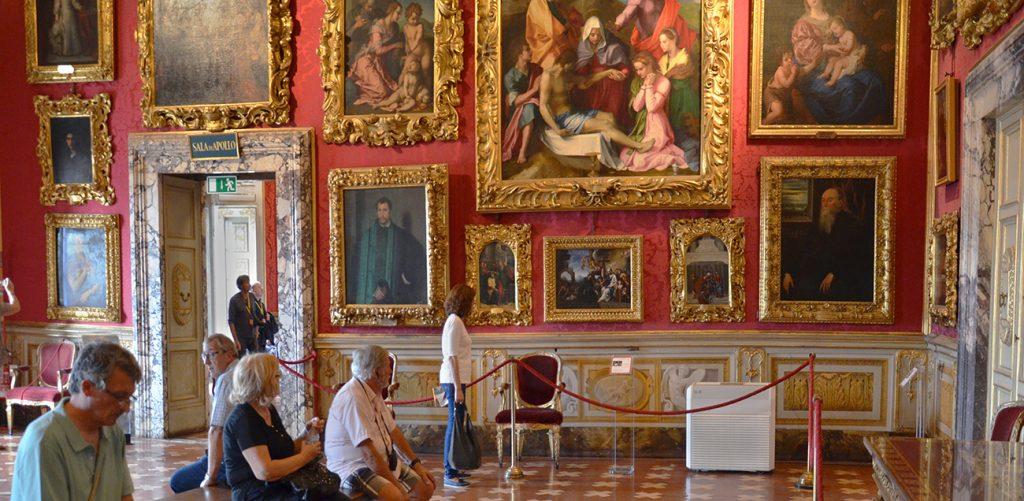 Biglietto d'ingresso alla Galleria Palatina