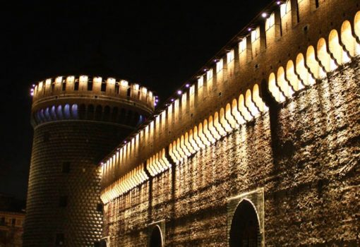 Lights of the 900 in the Pitti Palace