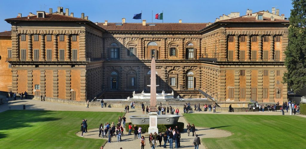 The Maggio of Summer in the Courtyard of Palazzo Pitti