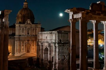 Roman Forum Night Opening, from August 9 to October 25 2013