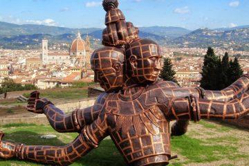 Mostra Zhang Huan al Forte Belvedere Firenze