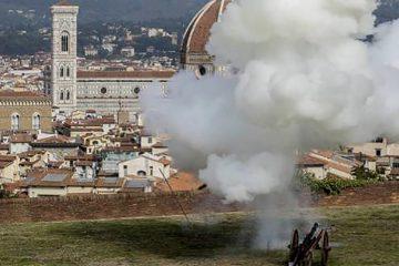 Il Colpo di Cannone dal Forte Belvedere