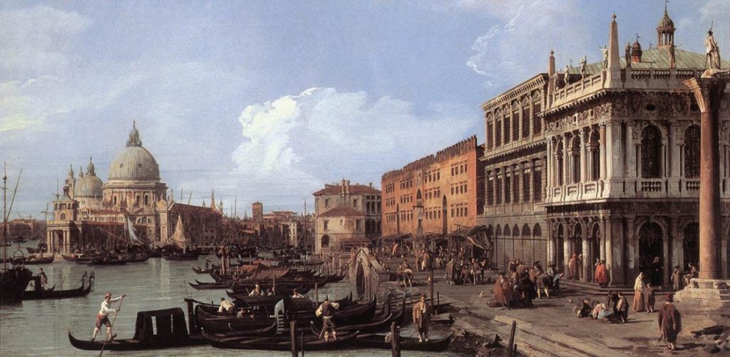 Canaletto in Venice