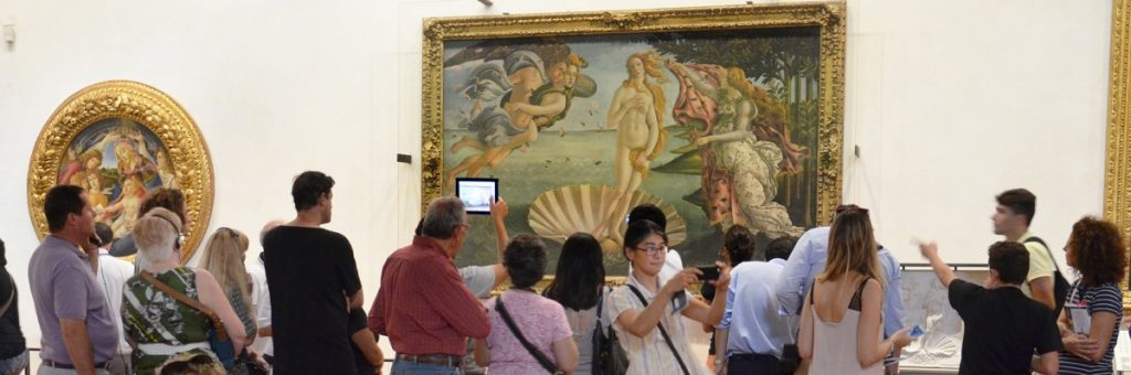 THE BEHAVIOR RULES FOR THE UFFIZI GALLERY