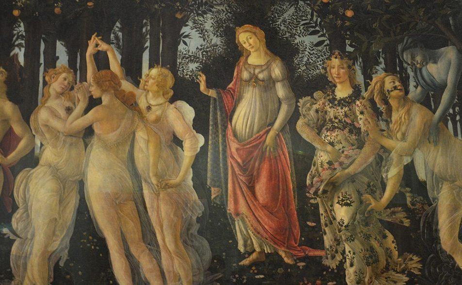 Chi è la Primavera del Botticelli?