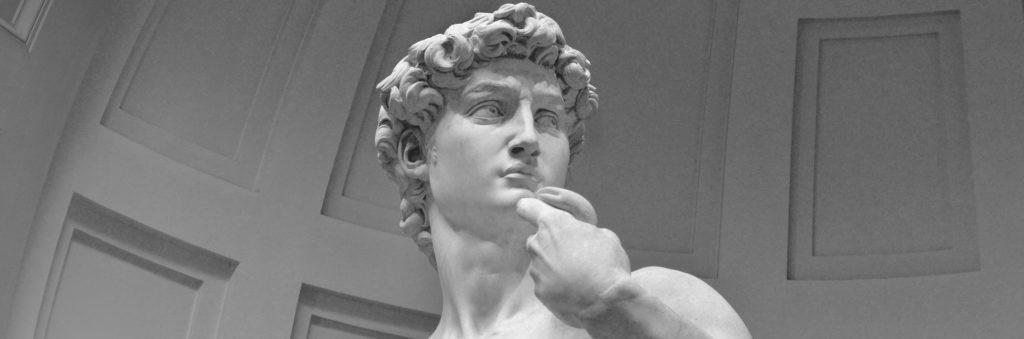 Where is Michelangelo's David?