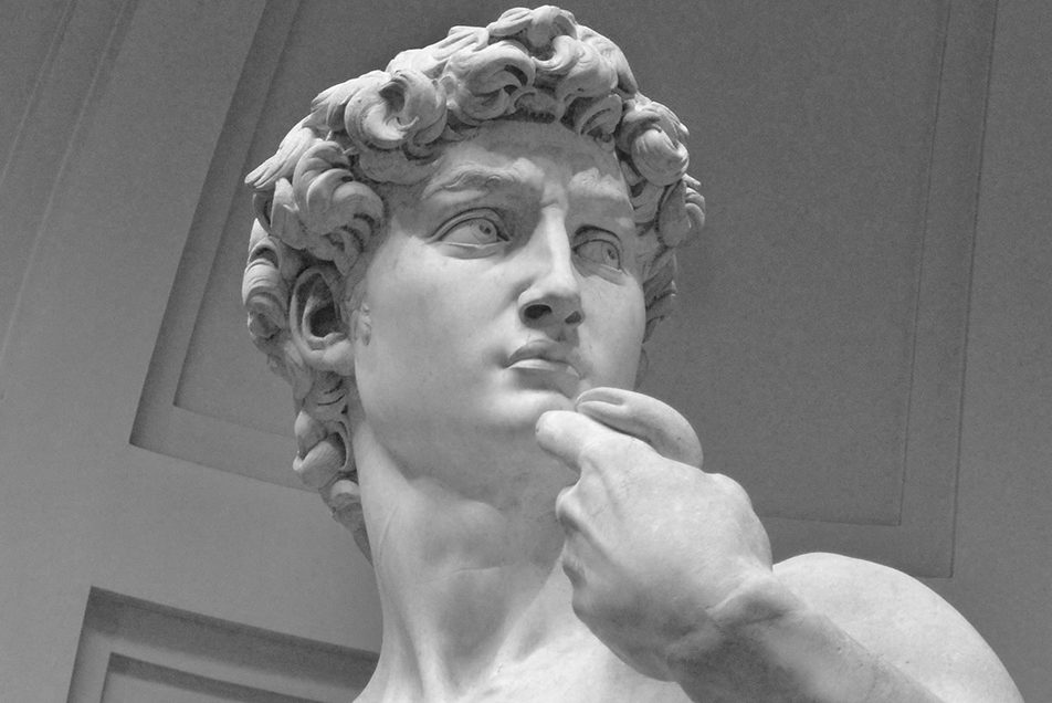 Where is Michelangelo's David?