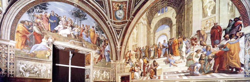What do Raphael's Rooms hide in the Vatican Museums?