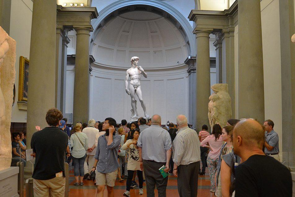 Biglietto d'ingresso alla Galleria dell'Accademia