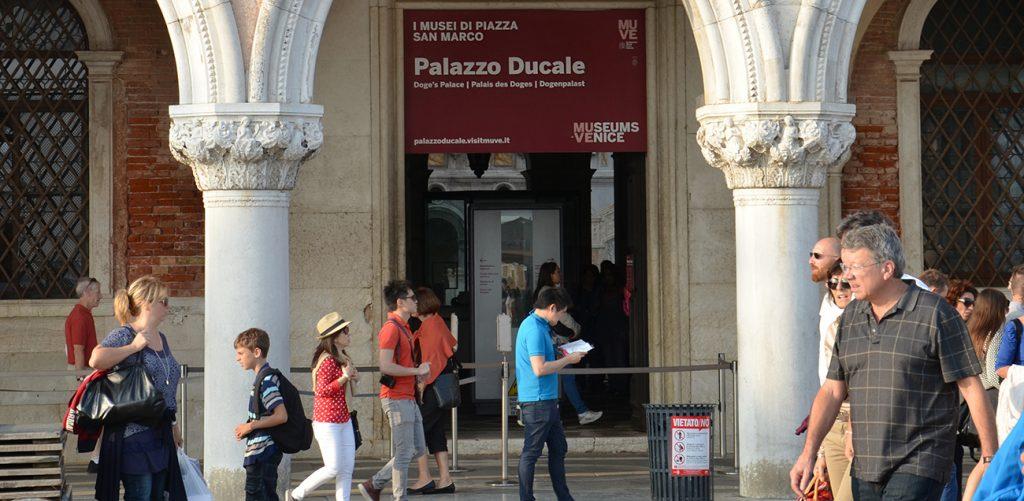 Biglietto d\'ingresso al Palazzo Ducale
