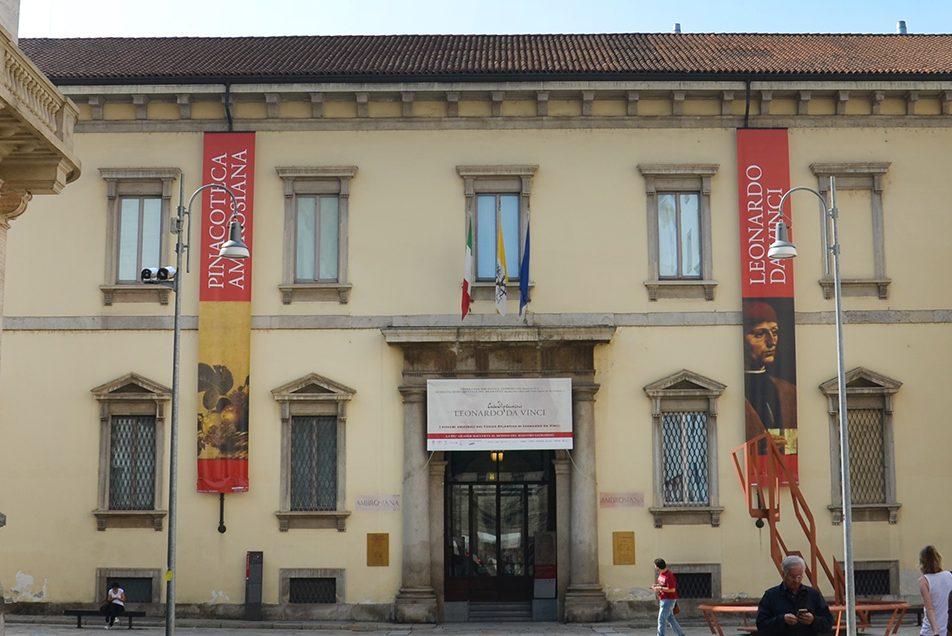 Biglietto d'ingresso alla Pinacoteca Ambrosiana