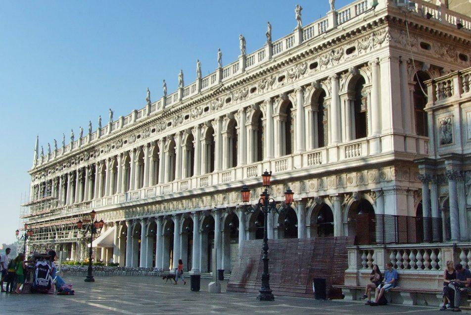La Biblioteca Marciana - Venecia