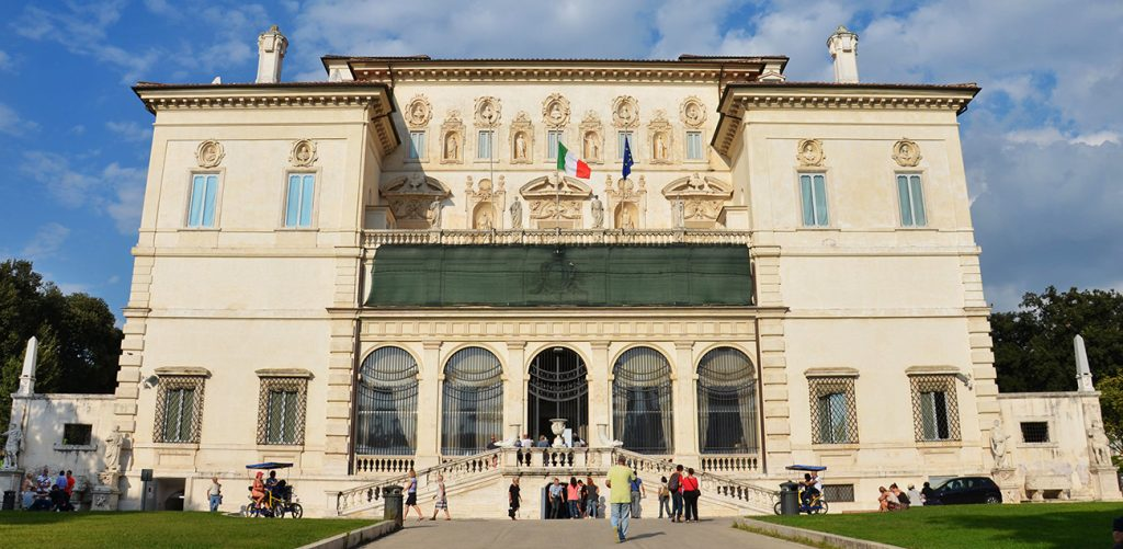 Biglietto d'ingresso alla Galleria Borghese