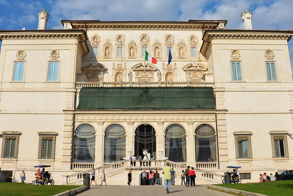 The Borghese Gallery entrance ticket