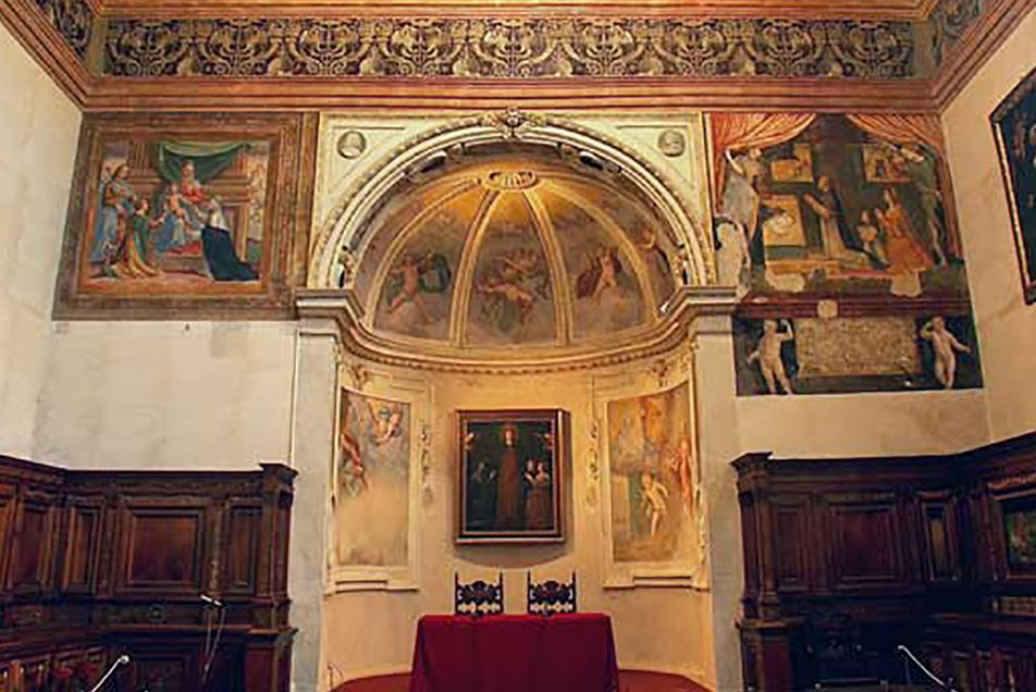 The Bramante Sacristy