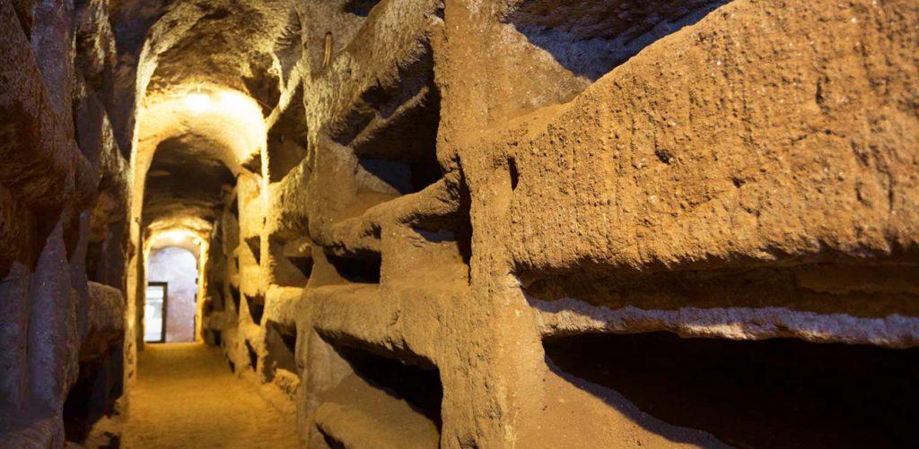 Biglietto d'ingresso alle Catacombe