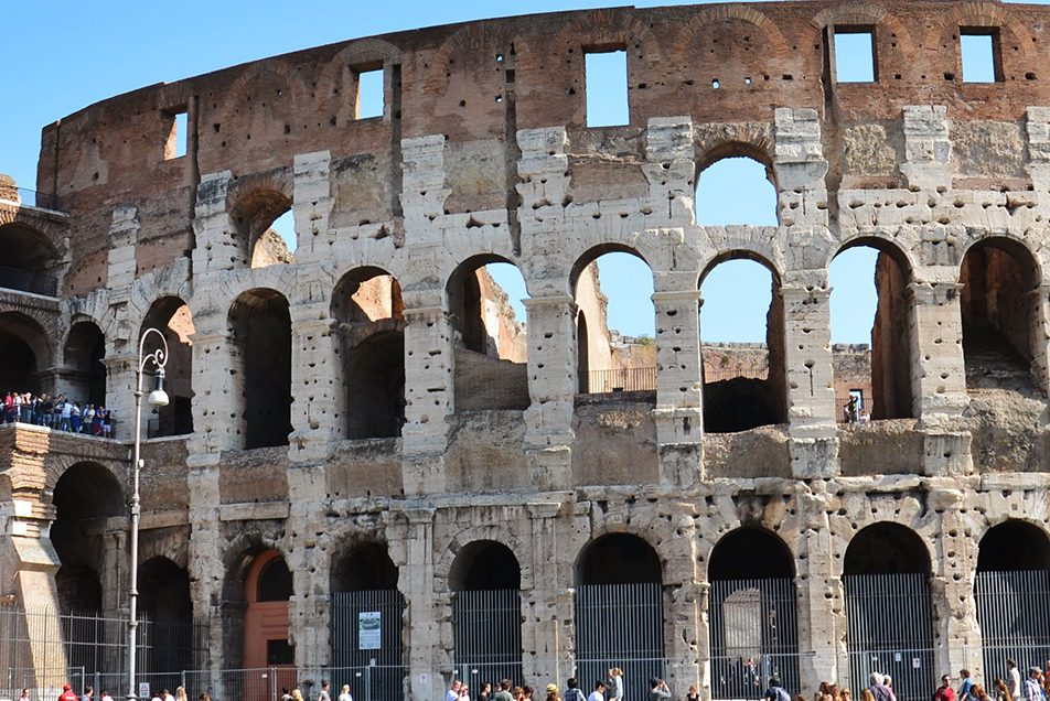 The Colosseum or Flavian Amphitheater