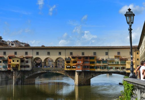 The Ponte Vecchio Guardian, Gerhard Wolf