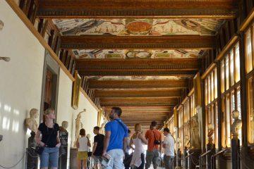 Biglietto d'ingresso alla Galleria degli Uffizi a Firenze
