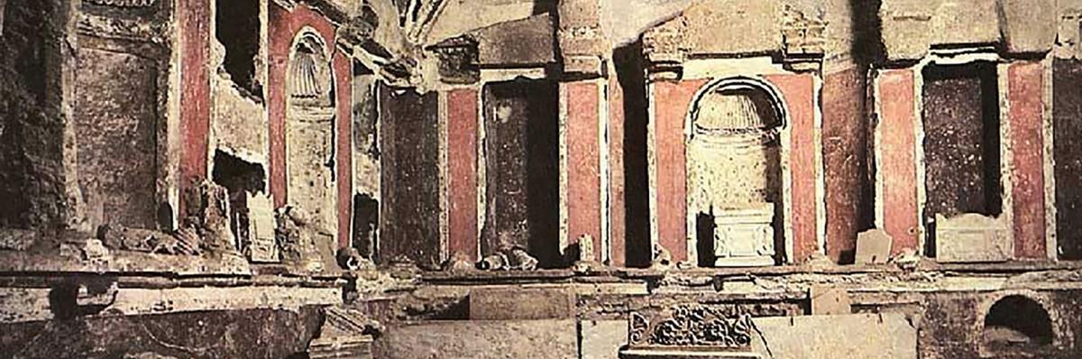 The Vatican Necropolis, Via Triumphalis