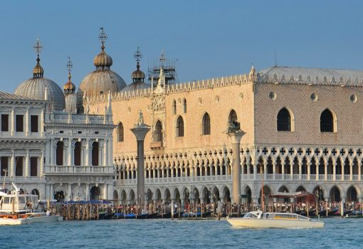 An exhibition at the Doge's Palace in Venice