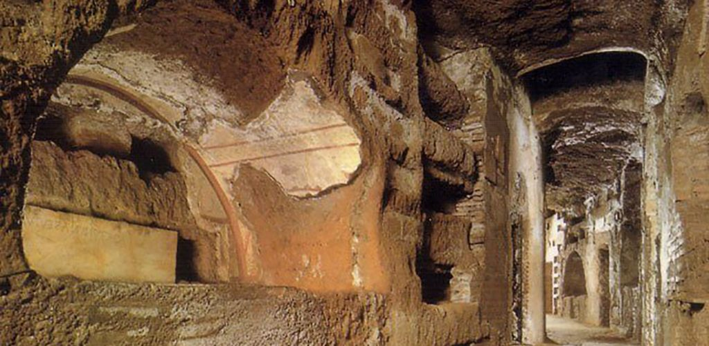 The Guided Tour of the Catacombs