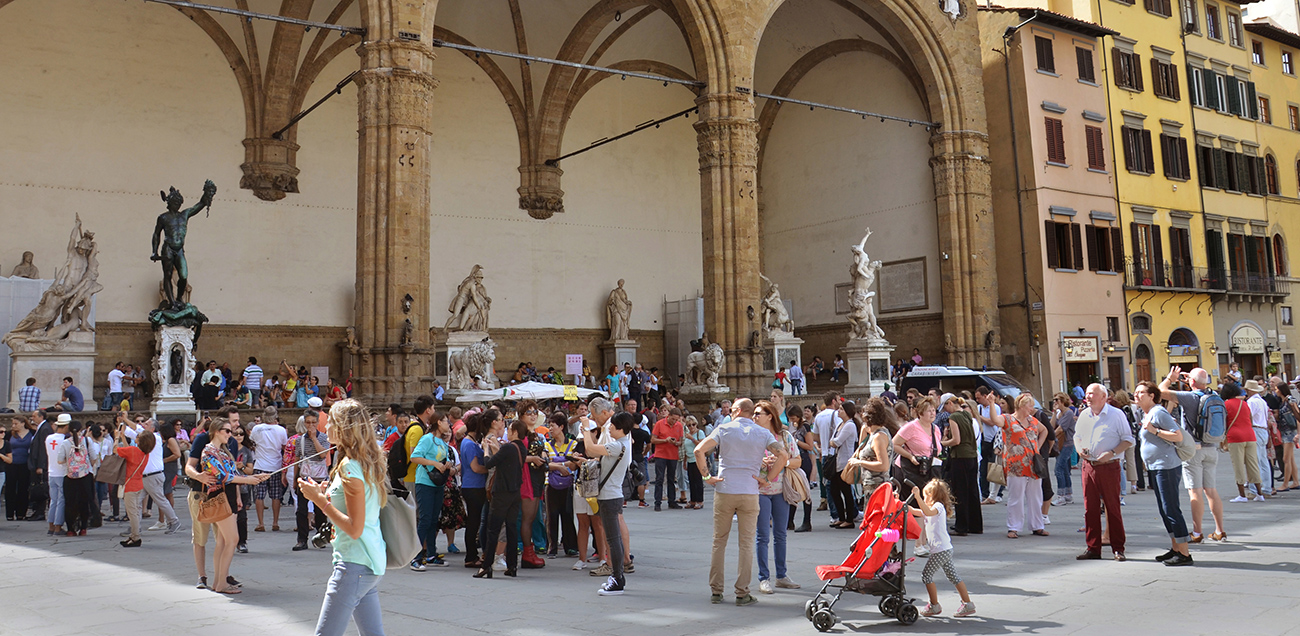 Italian Florence: Florence City Walking Tour & Uffizi Gallery