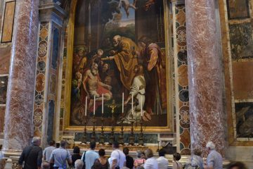 St. Peter's Basilica, Dome and Vatican Mosaic Studio Private tour