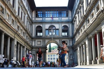 Luggage storage and Cloakroom of the Uffizi Gallery