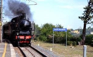 Castel Gandolfo con traslado en tren
