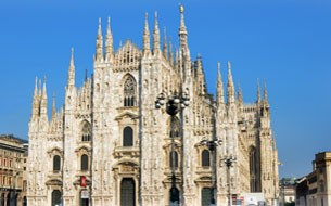 Milan Cathedral's Rooftops