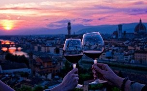 Wine Tour of Florence at Sunset