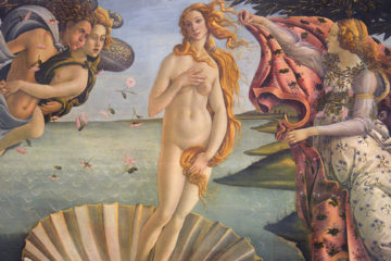 The Birth of Venus by Botticelli - Uffizi Gallery